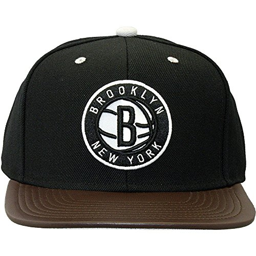 Mitchell And Ness - Casquette Snapback Homme Brooklyn Nets Legacy - Black
