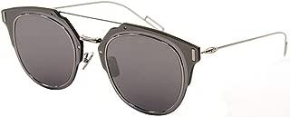 Homme Composit 1.0 010 Palladium Composit 1.0 Round Sunglasses Lens Catego