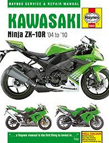 Kawasaki Zx-10r, '04-'10 Haynes Repair Manual