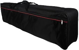Gecheer Portable 88-Key Keyboard Electric Piano Padded Case Gig Bag Oxford Cloth (Bag Webbing Color Random Delivery)
