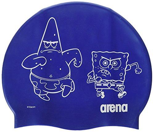 arena Spongebob Jr, Cuffia Piscina Uomo, Blu, Taglia Unica
