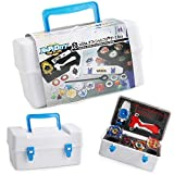 Bey Battling Top Toy Case,Storage Carrying Box for Beyblade Burst Turbo Launcher...