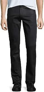 New $219 Black Wilks Coated Transcend 5 PKT Stretch Lennox Jeans Size 34