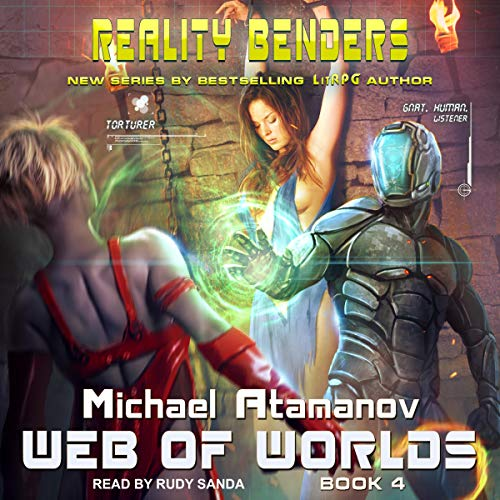 Web of Worlds audiobook cover art