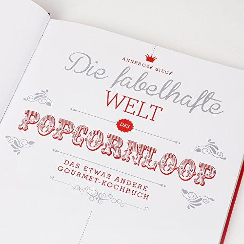 Popcornloop Rezeptbuch! 128 Seiten - 5