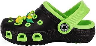 Hopscotch Baby Boys Other Dragon Applique Cutouts Clog - Green