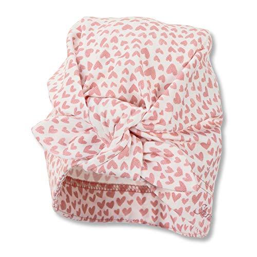 Sterntaler Baby Mädchen Knotenmütze 1412160 Winter Hut, ecru, 53 EU