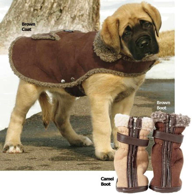 Cheyenne Dog Boot Small Brown