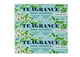 MID Summer Sales 25% Off Teagrance Herbal Toothpaste Homeopathy Gum Cure for Gingivitis and Periodontitis Perfect for Gum Disease Jasmine Tea Flavor Fluoride Free Travel Size 1oz 3 Count (TSA Safe)