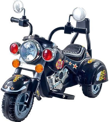 hermoso Lil' Rider Road Road Road Warrior Motorcycle - negro  marca
