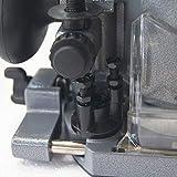 KATSU Electric Hand Holz Oberfräse Kantenfräse Set 220V 710W mit 3 Basen + 3 Spannzangen 6mm, 8mm und 10mm - 5