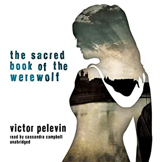 The Sacred Book of the Werewolf audiobook cover art