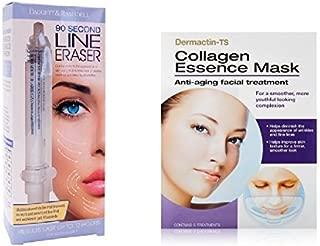Line Eraser 90 sec Wrinkle Reducer with Collagen Essence Mask