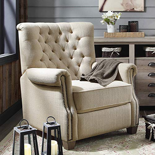 Better Homes and Garden Tufted Push Back Recliner (Set of 2 (Beige))