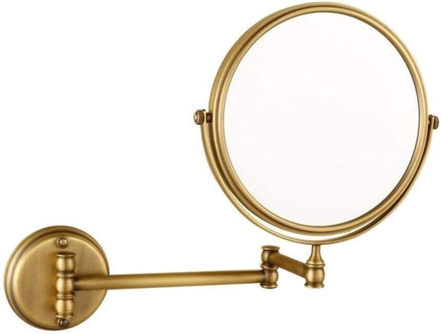 HONYGE LXGANG Wall-Mounted Makeup Department store Mirror Copper Over item handling Ant