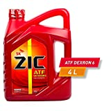 SK ZIC ATF DEXRON 6 (4 Liter) 100% Fully Synthetic Automatic Transmission Fluid