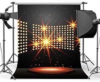 HDビニール7x10ftバンド背景インテリアステージボケグリッタースパンコール背景卒業式音楽ボーカルコンサートハリウッド写真歌手ダンサーの背景写真スタジオ小道具493