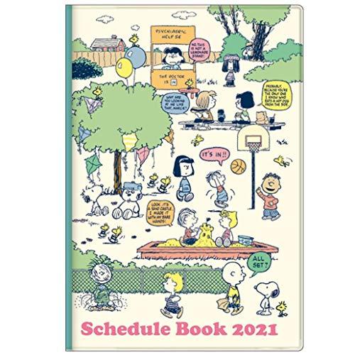 サンスター文具 スヌーピー 手帳 2021年 A5 マンスリー 公園 S2951487 2020年 10月始まり