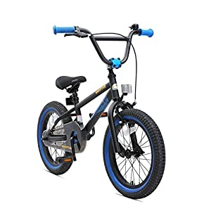 BMX Bikes BIKESTAR Premium Safety Sport Kids Bike Bicycle for Kids age 4-5 year old children | 16 Inch BMX Edition for boys and girls | [tag]