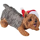 Sandicast Christmas Ornament, Yorkshire Terrier (Crouching)