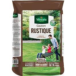 Vilmorin 4460417 Gazon Rustique, Vert, 10 kg