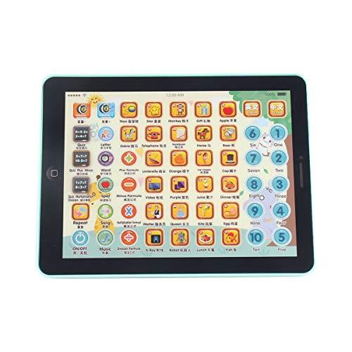 healthwen Los niños tocan el cojín de la Tableta Que aprenden la máquina de Lectura Máquina de la educación temprana