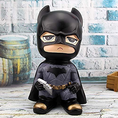 Haohaojia Tirelire Cochon Tirelire Grande capacité, Tirelire Avengers, Tirelire Artisanale en résine de Salon Batman