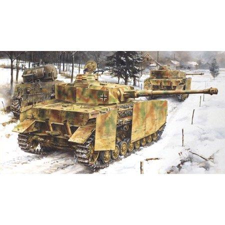 Dickie-Tamiya Dragon 500776556 – Panzer IV ausfühgung J, mittl. Production, 1/35