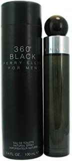 Perry Ellis 360 Black By Perry Ellis For Men. Eau De Toilette Spray 3.4 Ounces by Perry Ellis