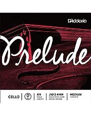 Cuerda individual Re para violonchelo Prelude de D'Addario, escala 4/4, tensión media.