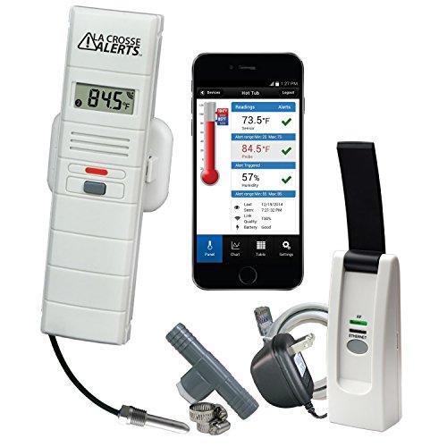La Crosse Alerts Mobile Wireless 926-251031-HT Monitor...