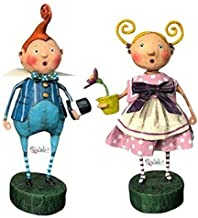 Kinks & Quirks Set of 2 Wizard of Oz Munchkins Figurines by Lori Mitchell