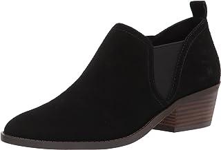 حذاء برقبة طويلة للنساء من Lucky Brand Fallo Bootie Fashion ، أسود ، 7
