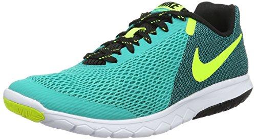 Nike Wmns Flex Experience RN 5, Scarpe da Ginnastica Donna, Verde (Clear Jade/Volt/Black/White), 42 EU