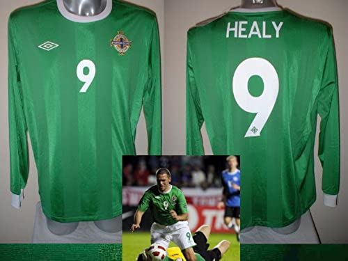 Umbro Maillot Irlande du Nord David Healy T-Shirt Adulte XL BNWT Football Football Manches Longues Top