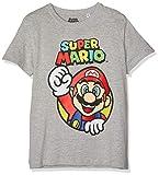 SUPER MARIO BROS Jungen 6957 T-Shirt  Grau  164