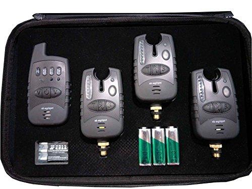 MK-Angelsport Funk Bissanzeiger Set 3+1 Multi Carbon 1:1 Übertragung
