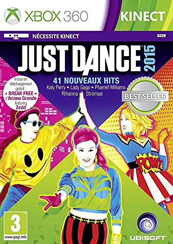 Ubisoft Just Dance 2015, Xbox 360 Basico Xbox 360 Francese videogioco