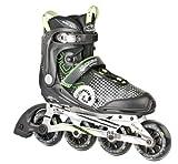 HUDORA Inliner Inline-Skates RX-90, Gr. 37, für Jugendliche und Erwachsene, schwarz/grün
