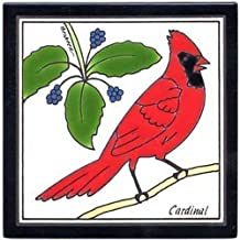 product image for Cardinal Wall Plaque, Ceramic Trivet, BRB-1