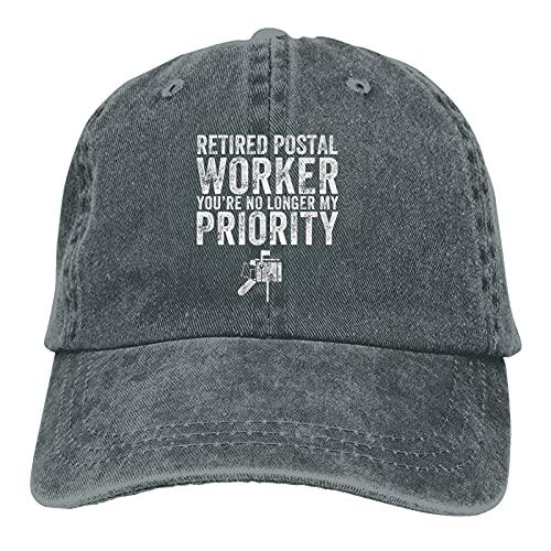 Jopath Retired Postal Worker You're No Ya My Priority Gorra de béisbol para hombres y mujeres ajustable Snapback sombrero