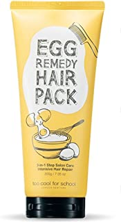 Too Cool for School Egg Remedy Hair Pack, 7.05 Oz / Hair Treatment Protein Care