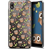 Ultra-Slim Case for 5.93 Inch Wiko View 2 Go - Summer Owl