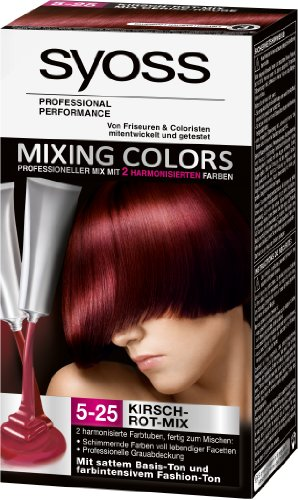 Syoss Mixing Colors 5-25 Kirsch-Rot-Mix, 1er Pack (1 Stück)