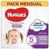 Huggies® Ultra Comfort Pants Pañal Braguita Talla 5 (9-14 kg) – 128 pañales, 4 packs de 32 uds