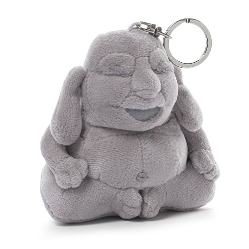 Gund Huggy Buddha Backpack Clip Plush
