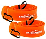 Midwest Outfitters Rod Socks Fishing Rod Sleeve Cover -2Pack- Rod Sock Fishing Pole Covers for...