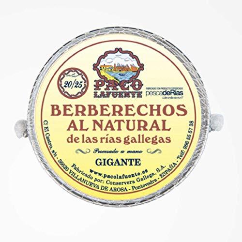 Paco Lafuente Berberechos al Natural Paco Lafuente - 20/25 P