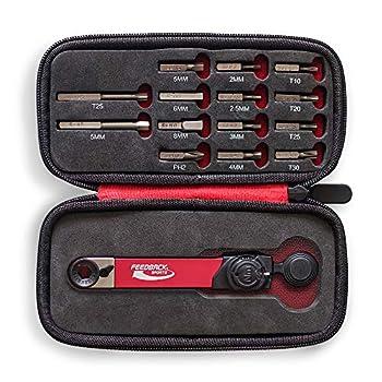 Feedback Sports Range Torque Ratchet Combo Black/Red One Size