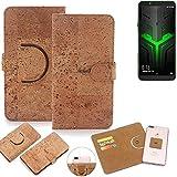 K-S-Trade® Handy Schutz Hülle Für Xiaomi Blackshark Helo Korkhülle 1x